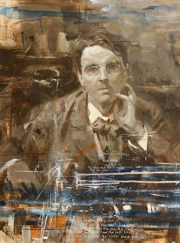 Noel Murphy, Portrait of William Butler Yeats at Morgan O'Driscoll Art Auctions