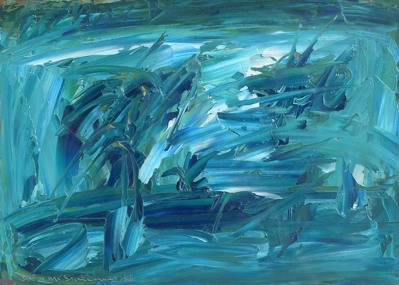 Lot 29 Bogland Water 1989 By Sean Mcsweeney Morgan