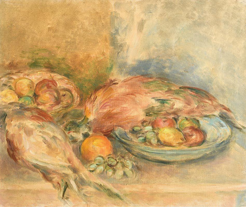Stella Steyn, Fruit & Pheasants at Morgan O'Driscoll Art Auctions