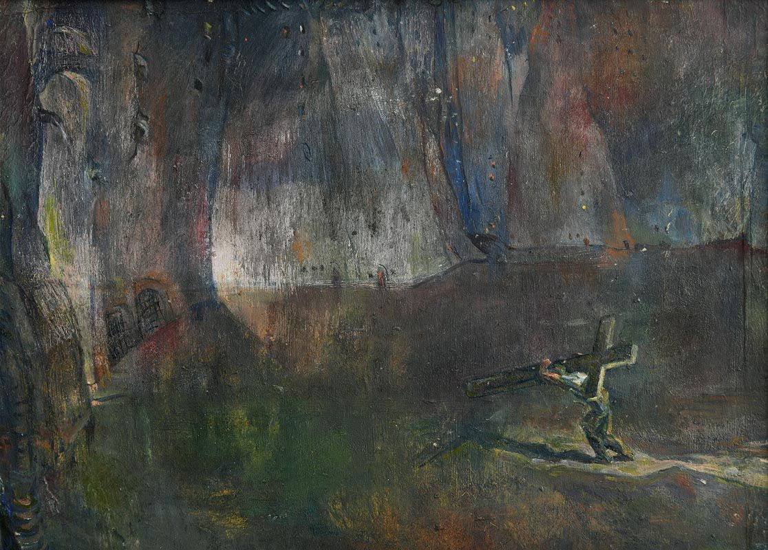 Mary Swanzy, Road to Destiny (c.1914) at Morgan O'Driscoll Art Auctions