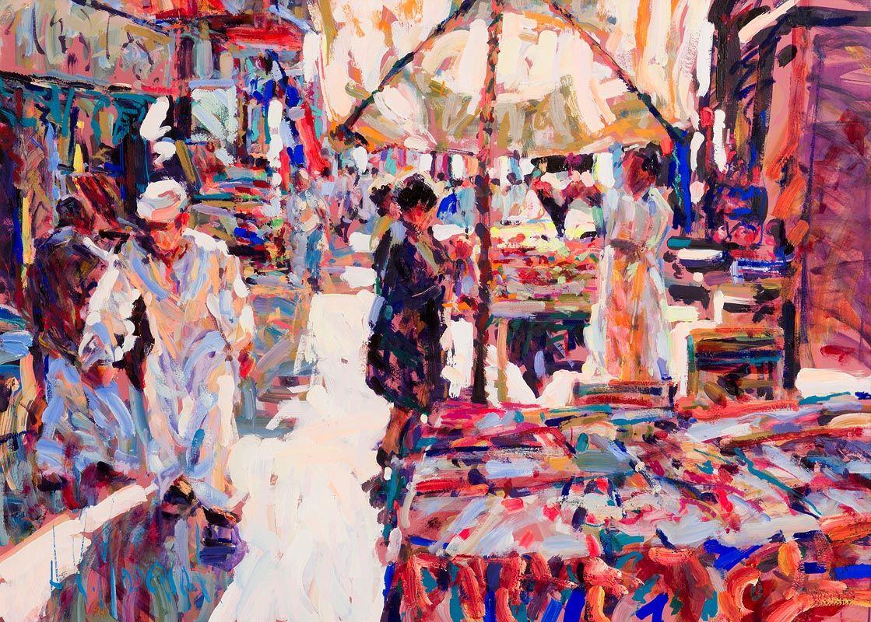 Arthur K. Maderson, Old Market, Luxor at Morgan O'Driscoll Art Auctions