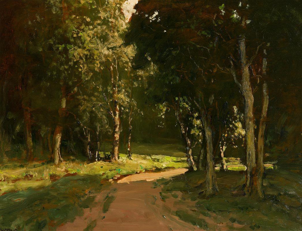 James Humbert Craig, Clandeboye Forest at Morgan O'Driscoll Art Auctions
