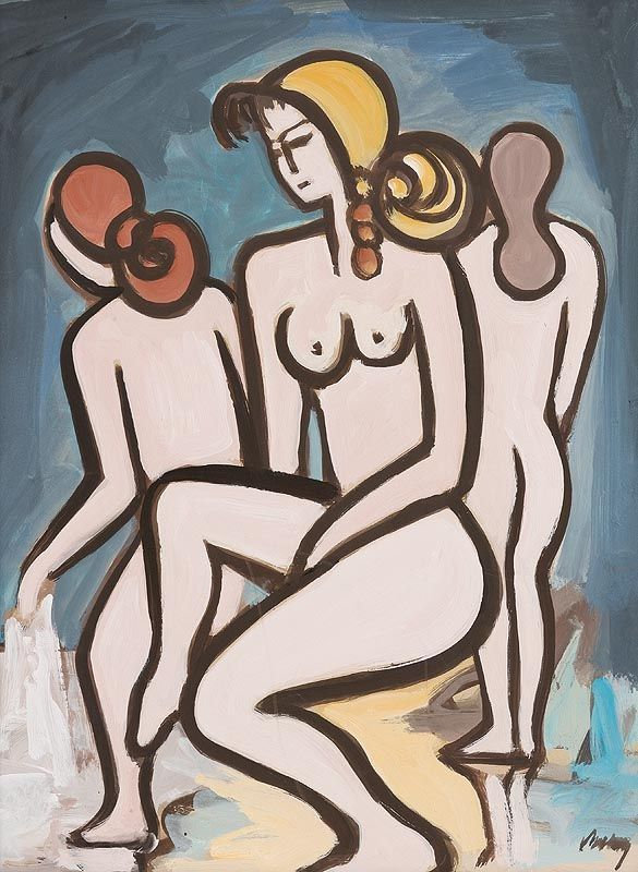 Markey Robinson, Female Bathers at Morgan O'Driscoll Art Auctions