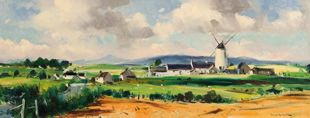 Kenneth Webb, Ballycopeland Mill, Millisle, Co.Down at Morgan O'Driscoll Art Auctions