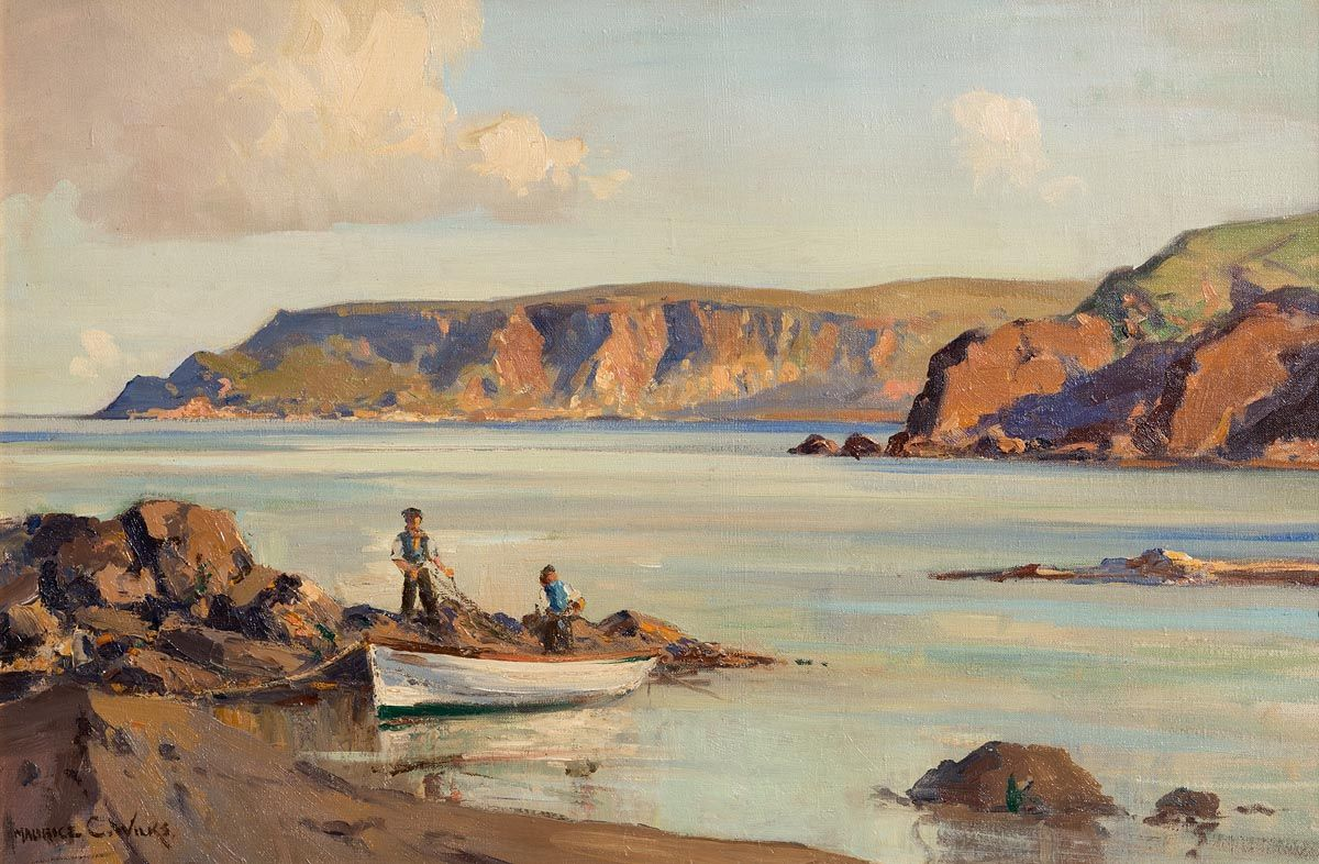 Maurice Canning Wilks, Point of Garron, Co.Antrim at Morgan O'Driscoll Art Auctions