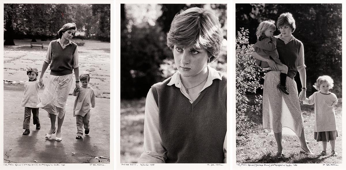 John Minihan, Princess Diana (1980) at Morgan O'Driscoll Art Auctions