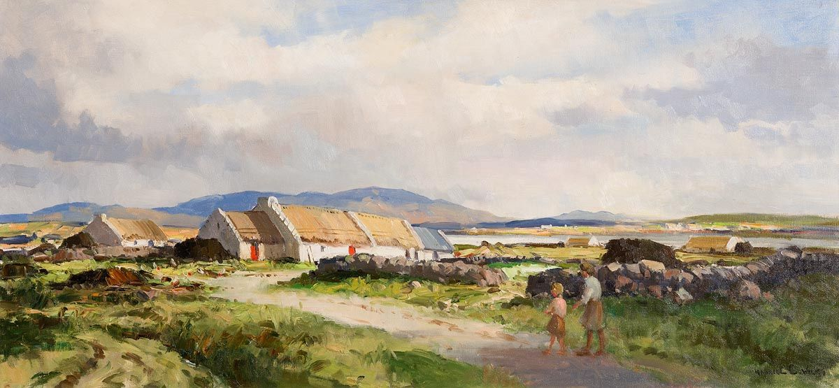 Maurice Canning Wilks, In the Rosses Country, Co.Donegal at Morgan O'Driscoll Art Auctions