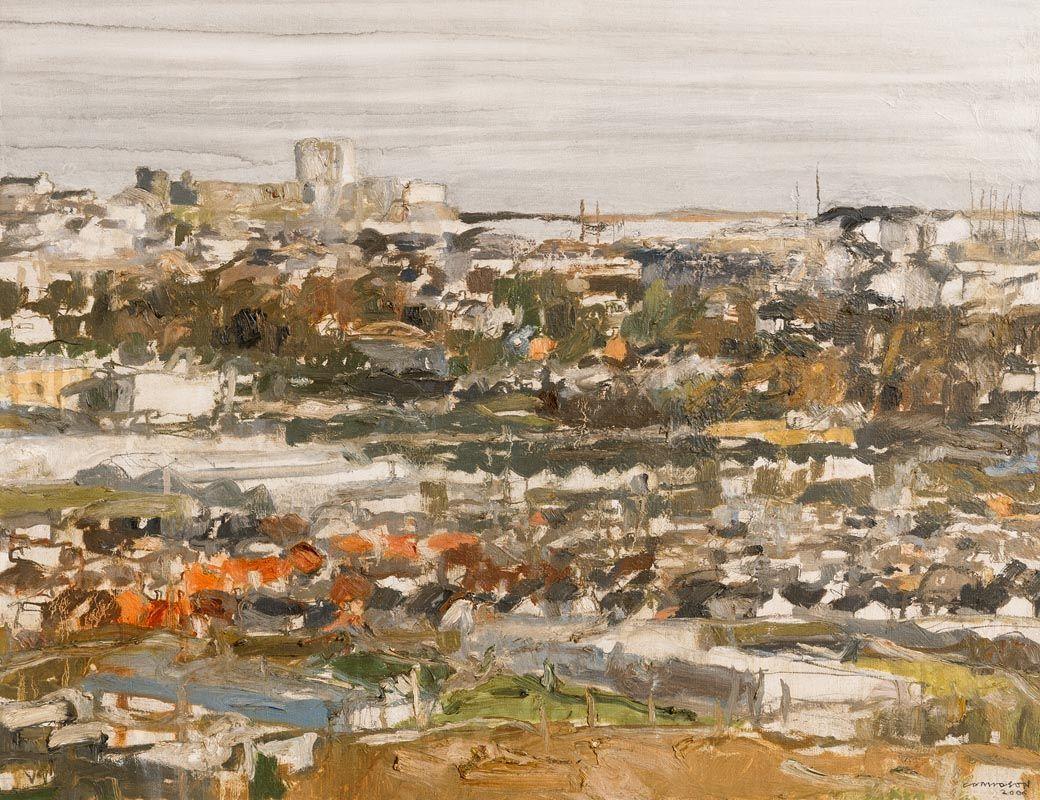 Colin Davidson, Towards Carrickfergus from Knockegh (2006) at Morgan O'Driscoll Art Auctions