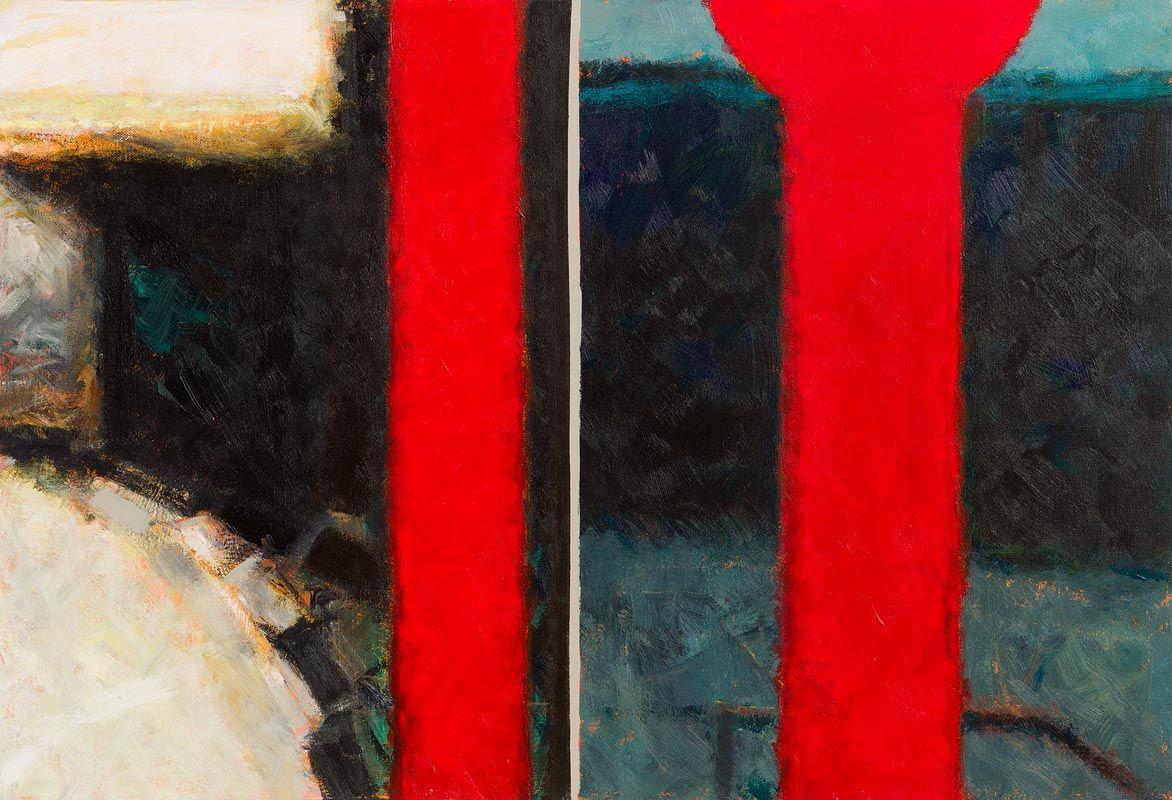 John Shinnors, Bus Stop V at Morgan O'Driscoll Art Auctions
