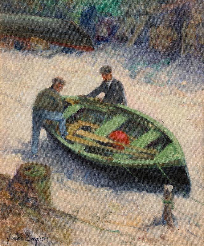 James English, Making Ready at Morgan O'Driscoll Art Auctions
