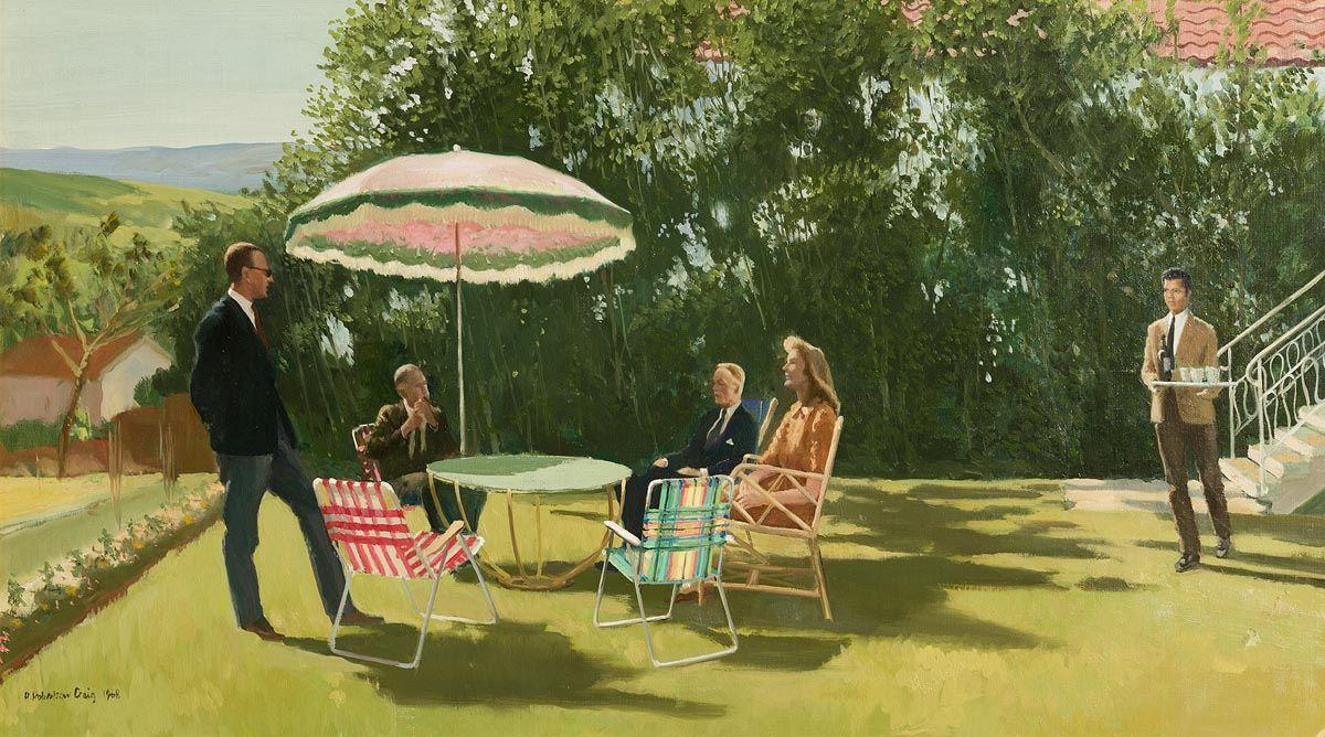 Henry Robertson Craig, Villa Domino (1968) at Morgan O'Driscoll Art Auctions