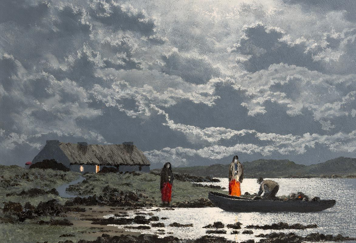 Ciaran Clear, At the End of the Inlet at Morgan O'Driscoll Art Auctions