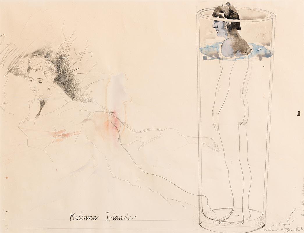 Michael Farrell, Madonna Irlanda (1977) at Morgan O'Driscoll Art Auctions