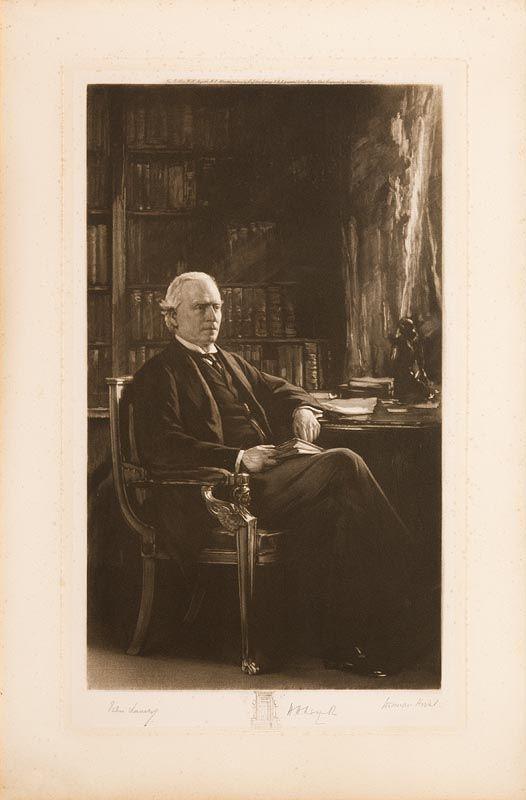 Sir John Lavery, Herbert Henry Asquith at Morgan O'Driscoll Art Auctions