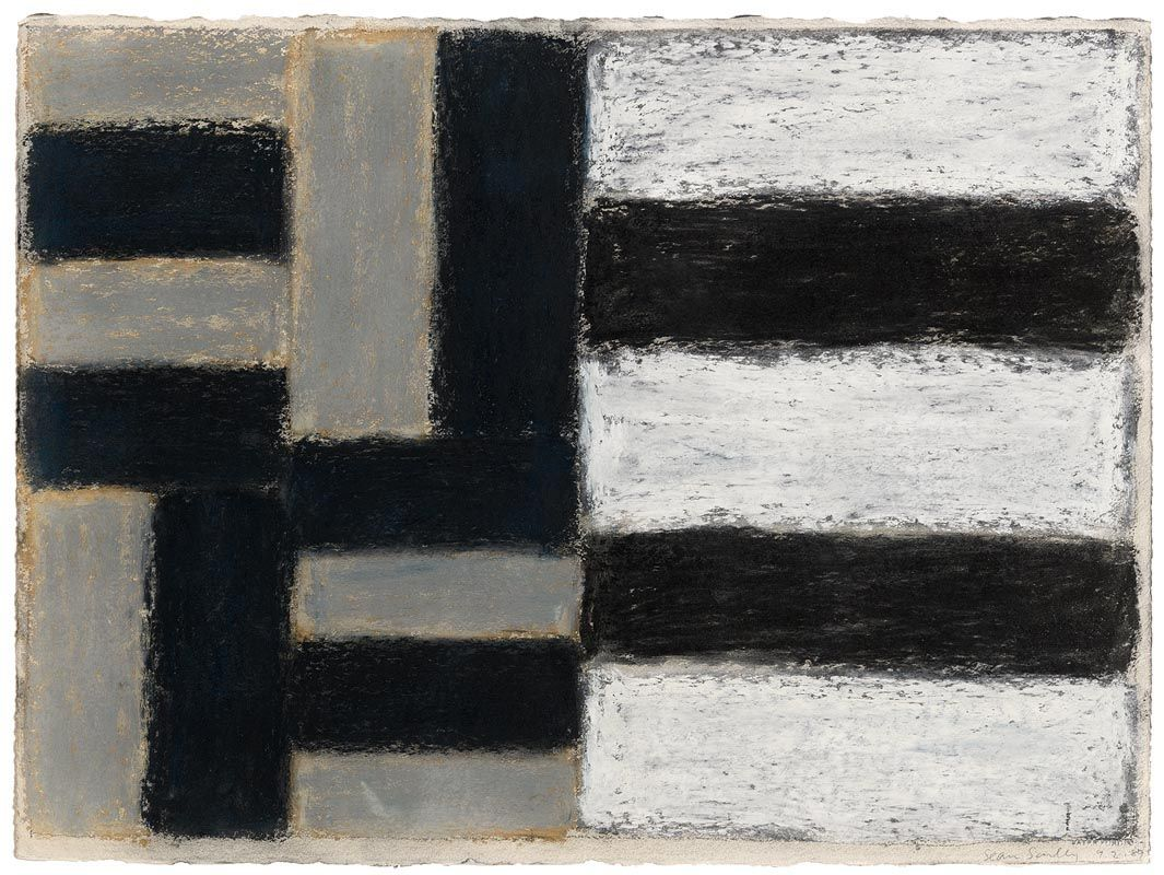 Sean Scully, 9.2.89 at Morgan O'Driscoll Art Auctions