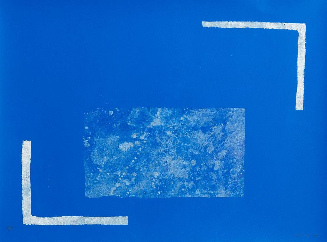 William Scott, Angles Equal, from 'A Poem for Alexander' (1972) at Morgan O'Driscoll Art Auctions