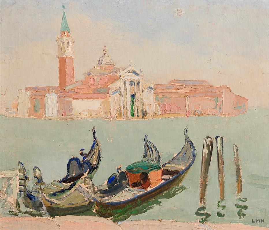 Letitia Marion Hamilton, View of San Giorgio Maggiore, Venice at Morgan O'Driscoll Art Auctions