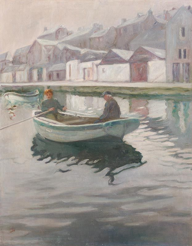 Lilian Lucy Davidson, River Mist, Wicklow at Morgan O'Driscoll Art Auctions