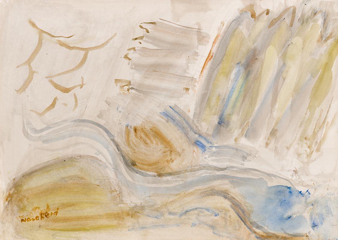 Nano Reid, Incoming Tide on the Rocks at Morgan O'Driscoll Art Auctions