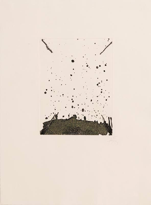 Antoni Tapies, La Clau del Foc at Morgan O'Driscoll Art Auctions