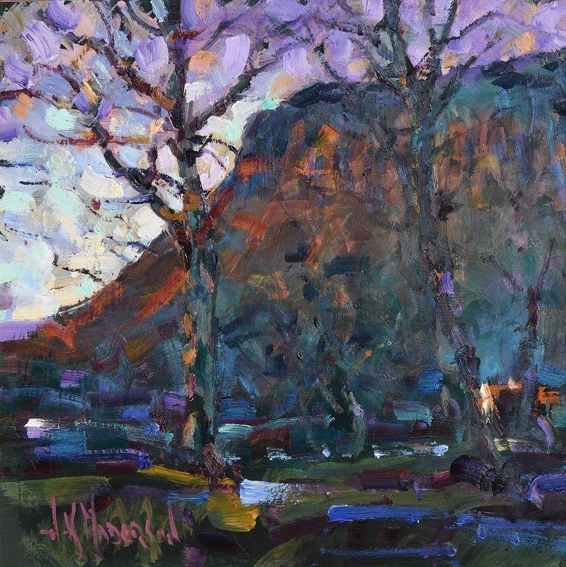 Arthur K. Maderson, Approaching Dusk, Benbulben, Sligo at Morgan O'Driscoll Art Auctions