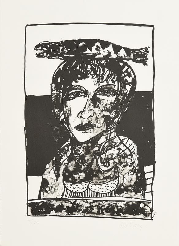 John Bellany, The Blessed One (2004) at Morgan O'Driscoll Art Auctions
