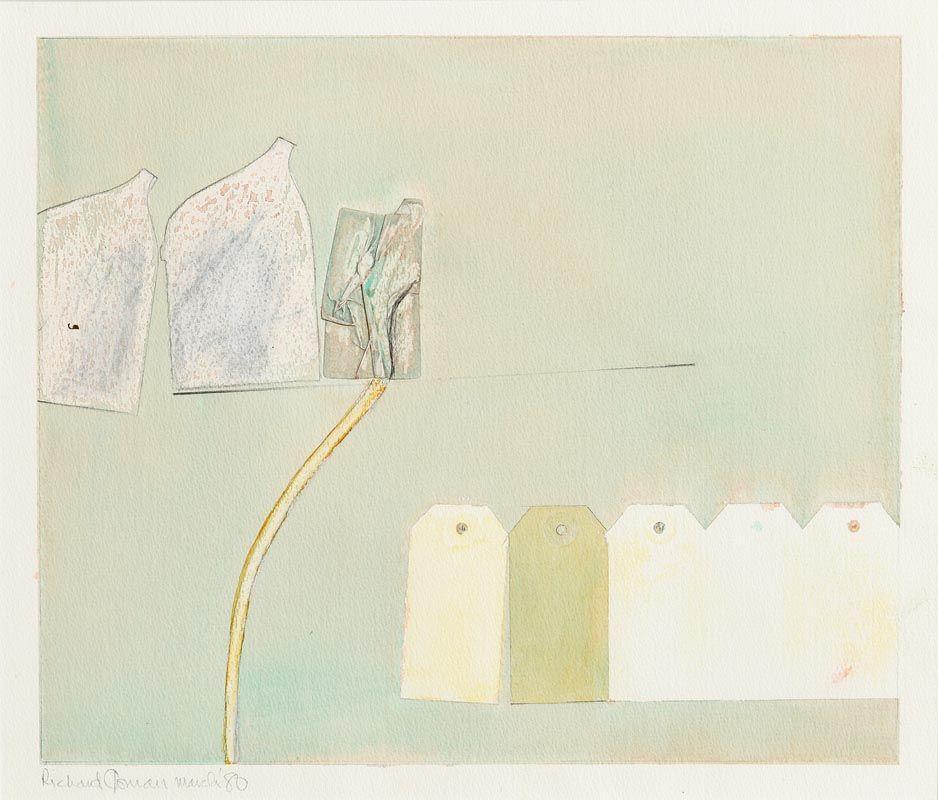 Richard Gorman, Abstract Composition (1980) at Morgan O'Driscoll Art Auctions