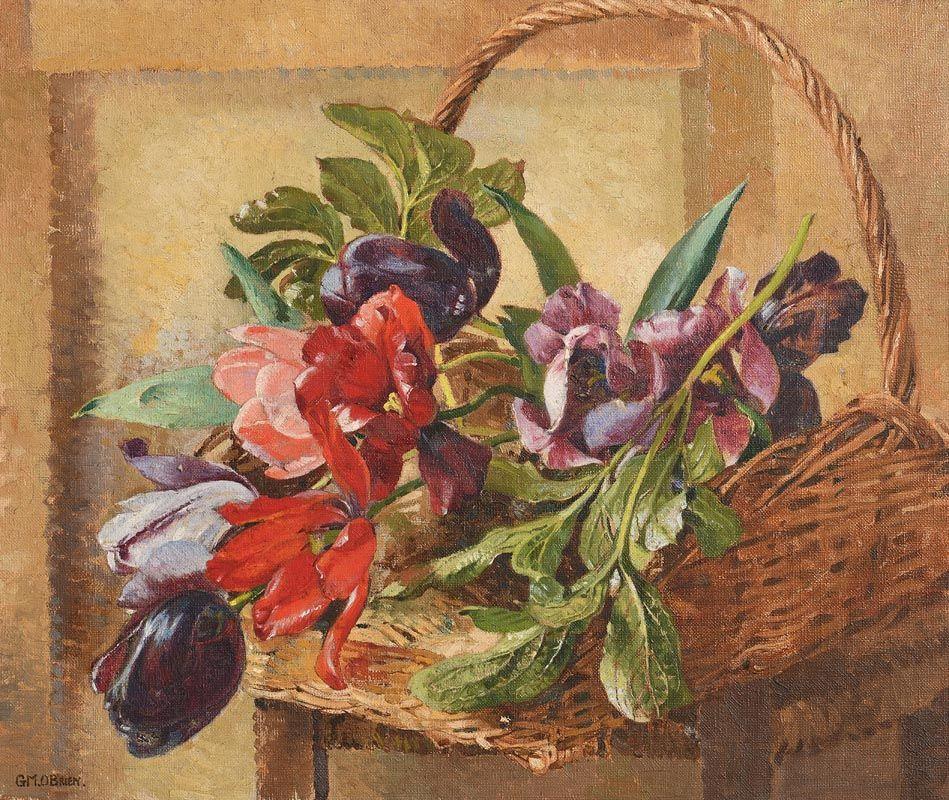 Geraldine  M. O'Brien, Tulips at Morgan O'Driscoll Art Auctions