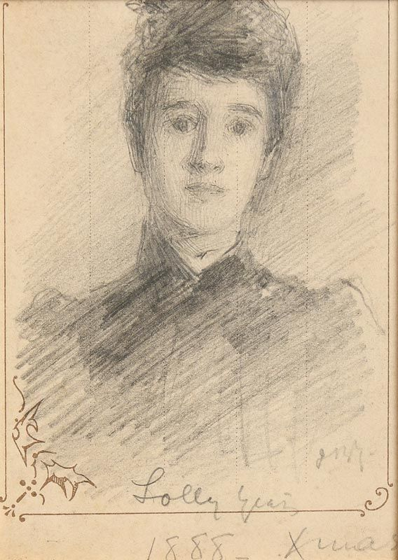 John Butler Yeats, Lolly (1888) at Morgan O'Driscoll Art Auctions