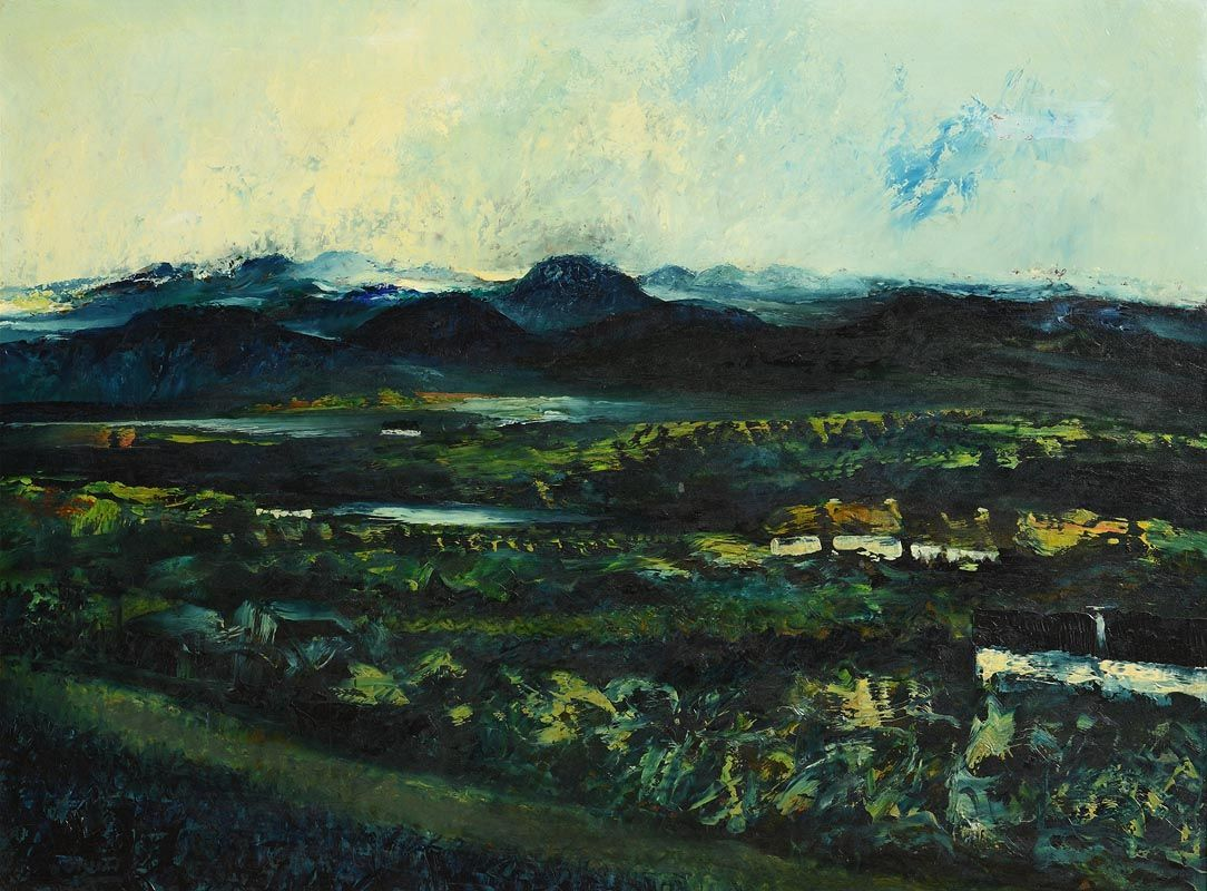 Daniel O'Neill, Landscape, Co. Down at Morgan O'Driscoll Art Auctions