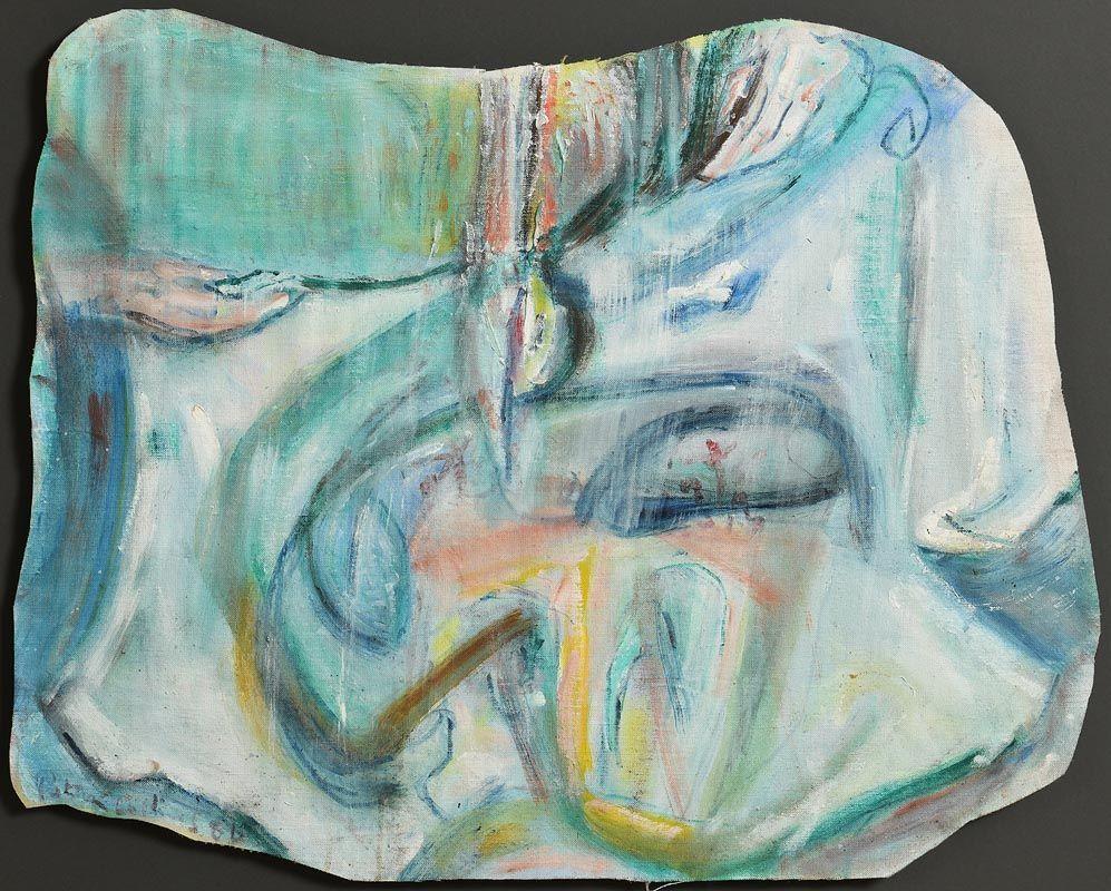 Patrick Collins, Veronica's Cloth (1986) at Morgan O'Driscoll Art Auctions