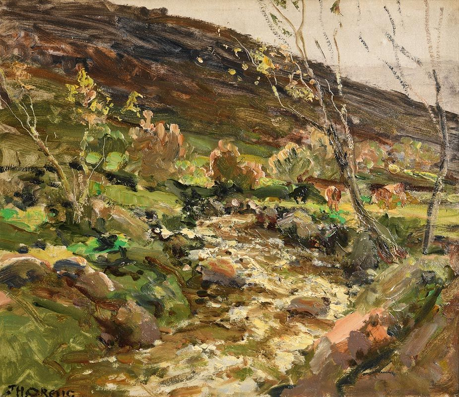 James Humbert Craig, The Glens of Antrim at Morgan O'Driscoll Art Auctions
