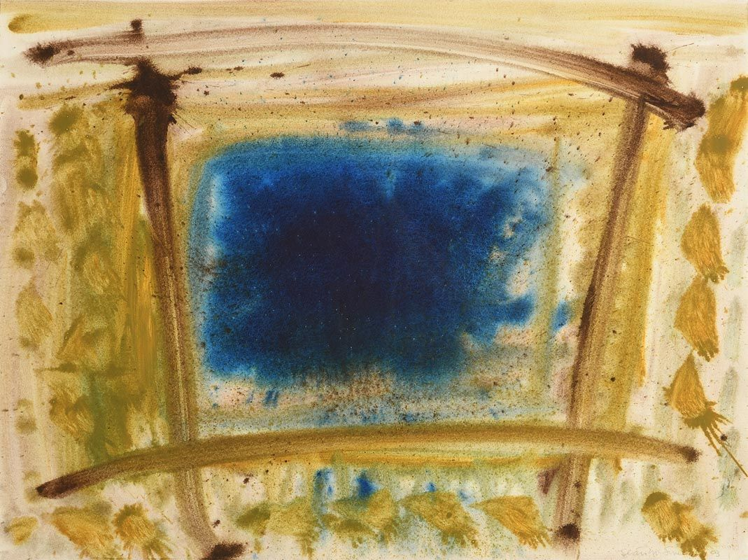 Sean McSweeney, Blue Pool (2003) at Morgan O'Driscoll Art Auctions