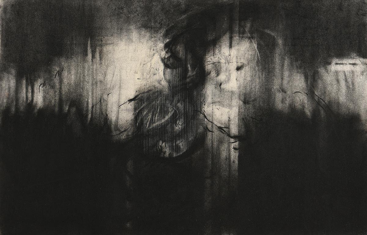 Hughie O'Donoghue, The Tree Study at Morgan O'Driscoll Art Auctions