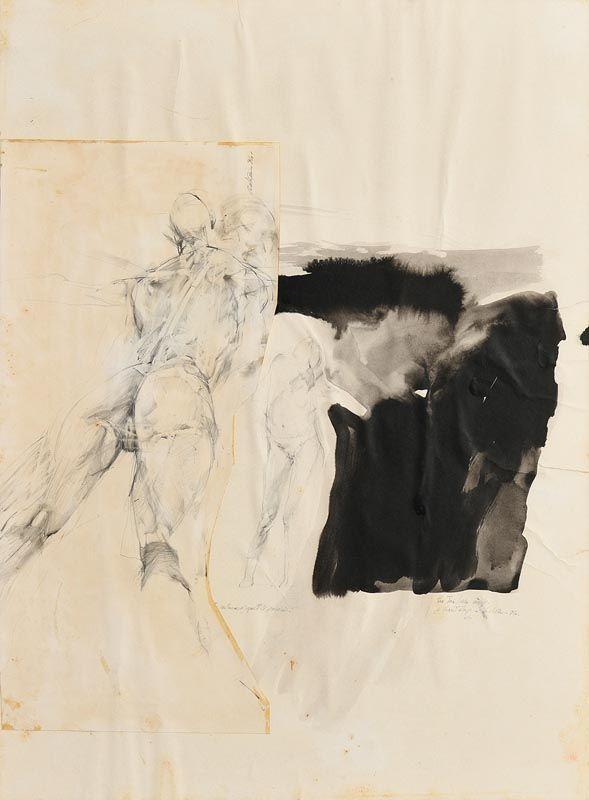 Paddy Graham, Life Drawing (1984) at Morgan O'Driscoll Art Auctions