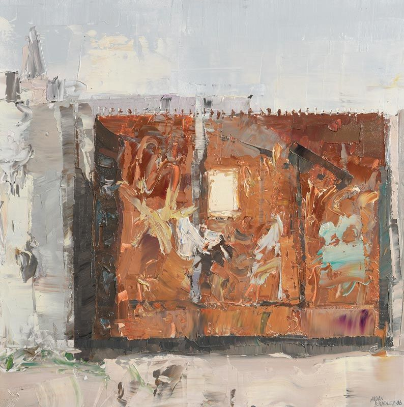 Back of Vicker Street, Dublin (2006) at Morgan O'Driscoll Art Auctions