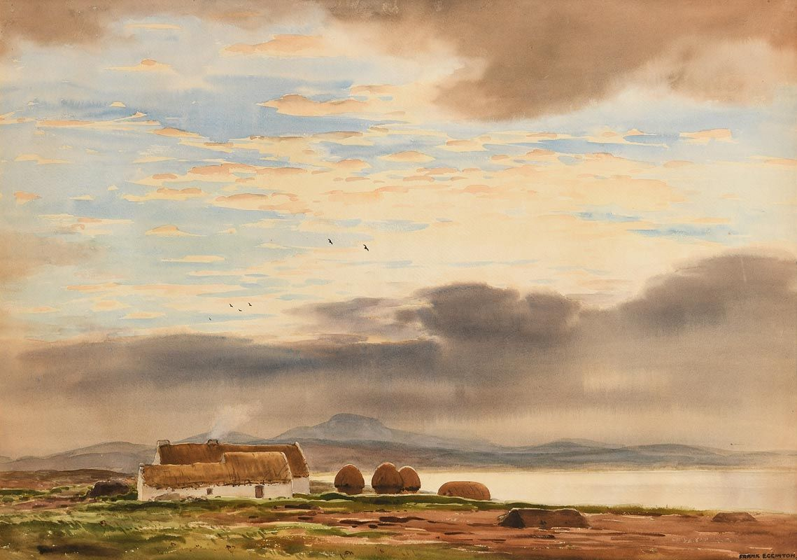 Frank J. Egginton, Early Morning near Belmullet, Co. Mayo at Morgan O'Driscoll Art Auctions