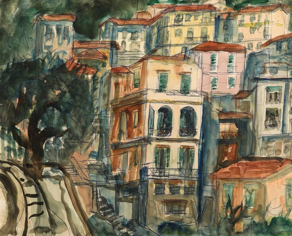 Kenneth Hall, Continental Cityscape at Morgan O'Driscoll Art Auctions