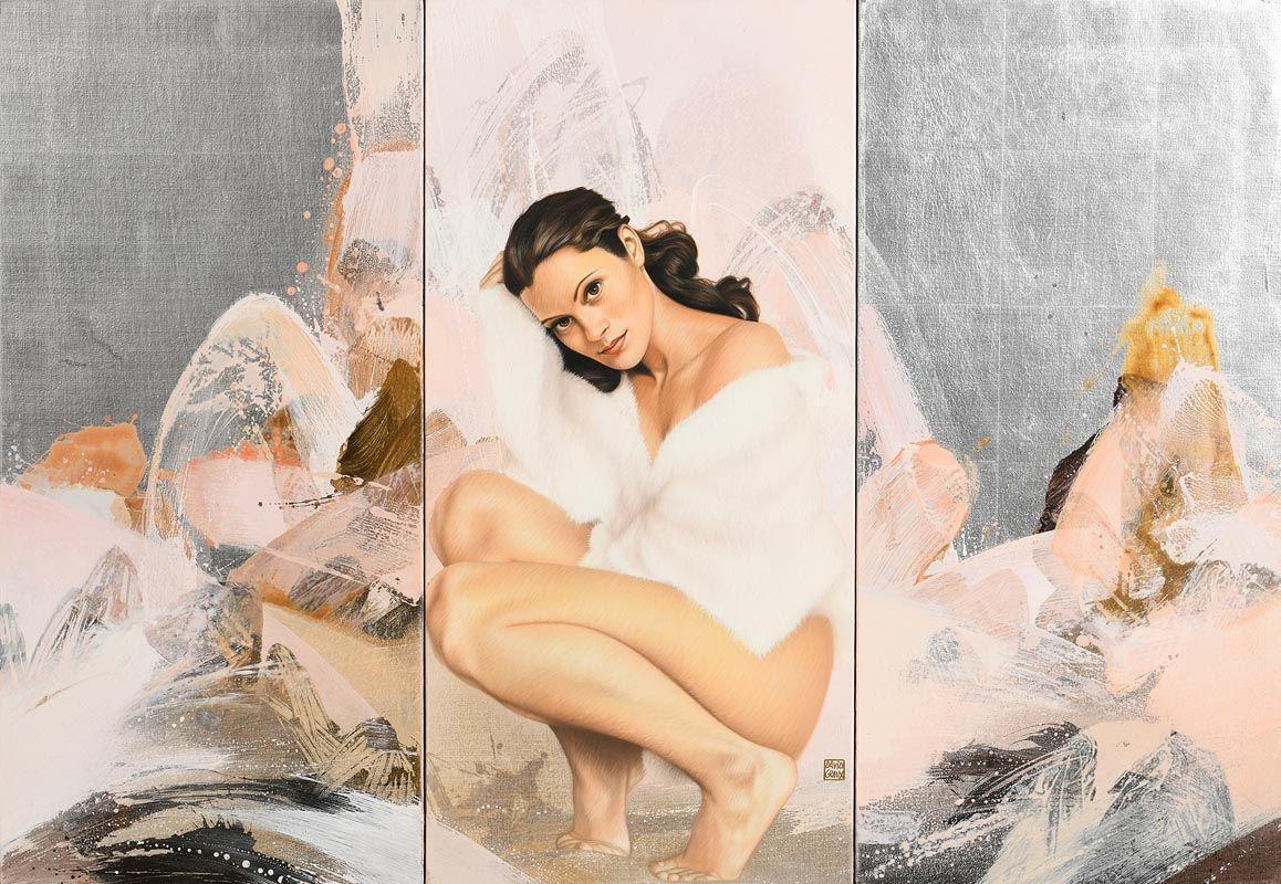 David Graux, Arctique Nebuleuse at Morgan O'Driscoll Art Auctions