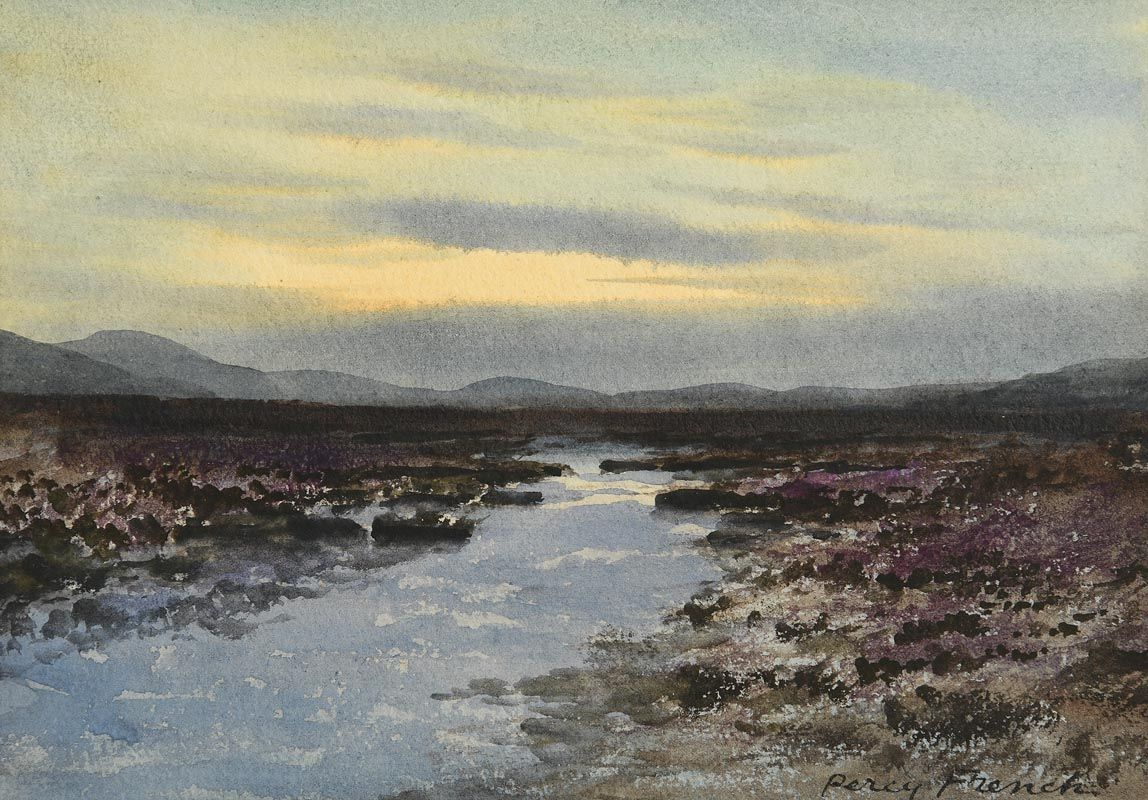 Percy French, Connemara Evening at Morgan O'Driscoll Art Auctions