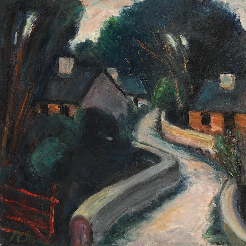 Peter Collis, Farmstead at Morgan O'Driscoll Art Auctions