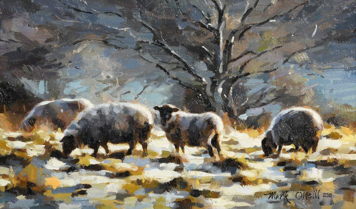 Mark O'Neill, A Heavy Frost (2018) at Morgan O'Driscoll Art Auctions