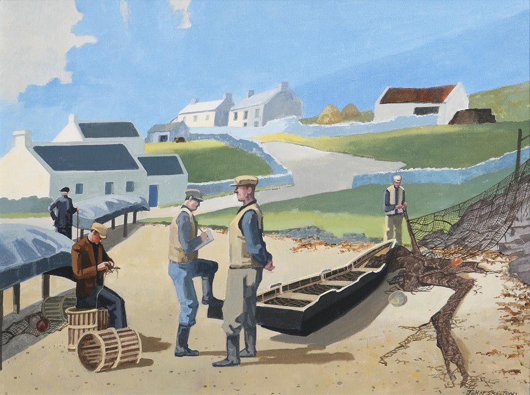 John Skelton, Network, Inishmor, Aran at Morgan O'Driscoll Art Auctions