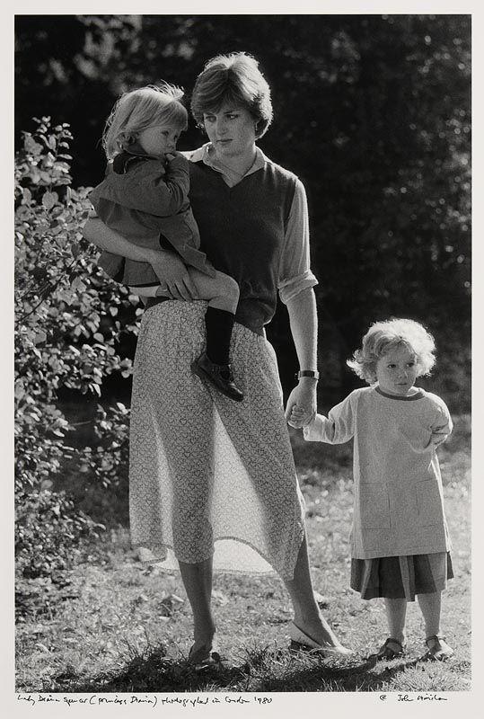 John Minihan, Lady Diana Spencer (Princess Diana) photographed in London 1980 at Morgan O'Driscoll Art Auctions