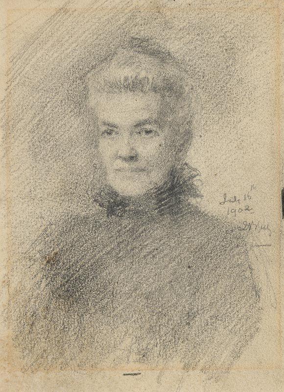 John Butler Yeats, Rosa Butt (1902) at Morgan O'Driscoll Art Auctions