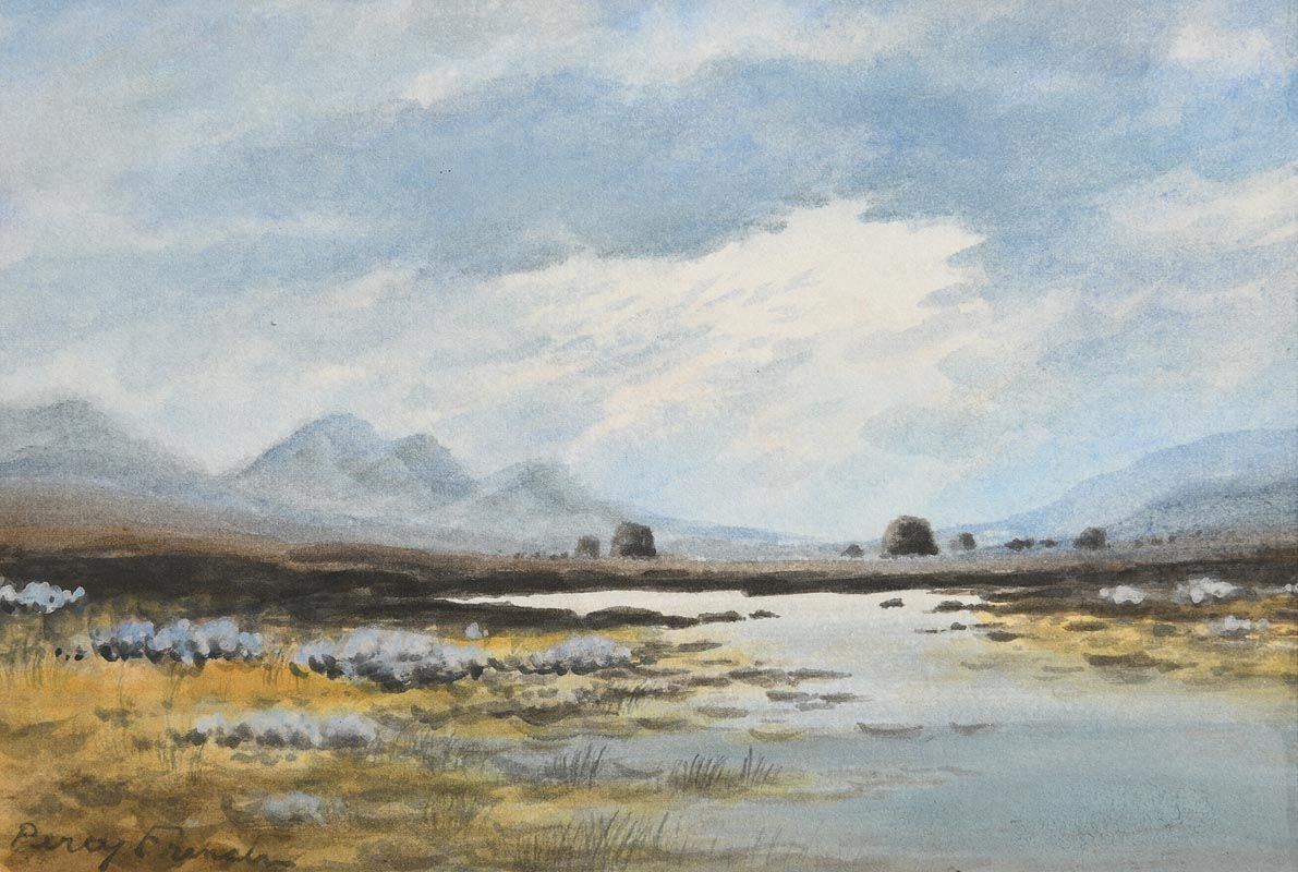 Percy French, Connemara at Morgan O'Driscoll Art Auctions
